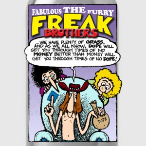 Fabulous Furry Freak Brothers Dope Quote - Water Bottle