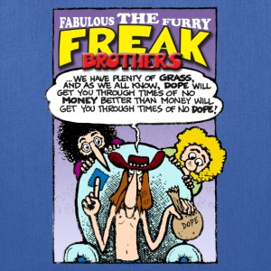 Fabulous Furry Freak Brothers Dope Quote - Tote Bag