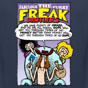 Fabulous Furry Freak Brothers Dope Quote - Men's Premium Tank