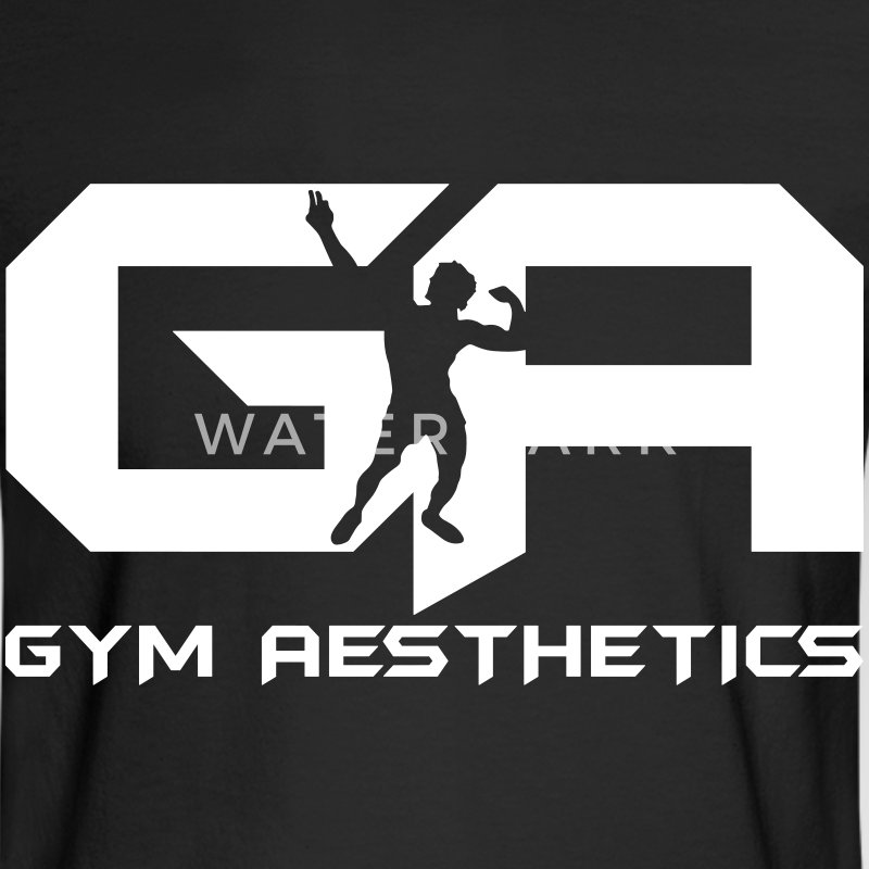 Gym Aesthetics Long Sleeve Shirts - Men's Long Sleeve T-Shirt
