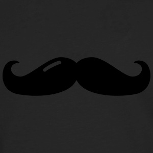 Mustache T-Shirts - Men's Premium Long Sleeve T-Shirt