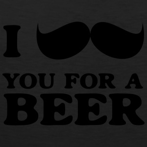 I mustache you for a beer Women's T-Shirts - Men's Premium Tank