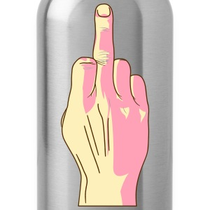 middle_finger T-Shirts - Water Bottle