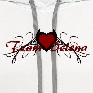 team delena Women's T-Shirts - Contrast Hoodie