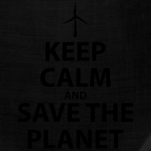 Keep Calm and Save The Planet - Bandana