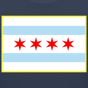 Chicago Flag - Men's Premium Tank