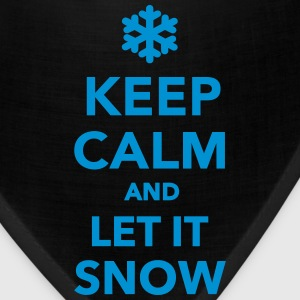 Keep calm let it snow T-Shirts - Bandana