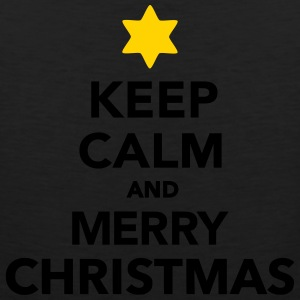 Keep calm and Merry christmas Women's T-Shirts - Men's Premium Tank