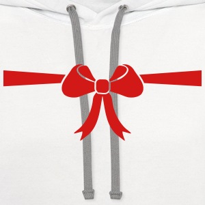 Bow Women's T-Shirts - Contrast Hoodie