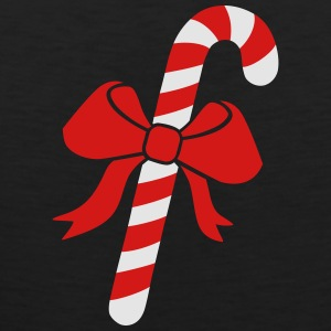 Candy cane Women's T-Shirts - Men's Premium Tank