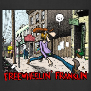 Fabulous Furry Freak Brothers Freewheelin Franklin - Adjustable Apron