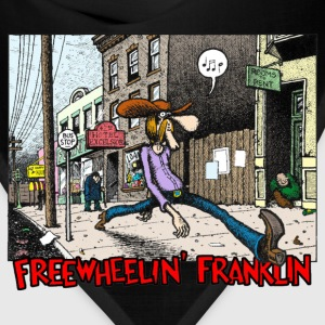 Fabulous Furry Freak Brothers Freewheelin Franklin - Bandana