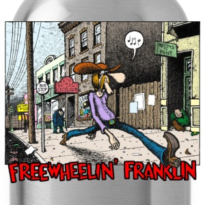 Fabulous Furry Freak Brothers Freewheelin Franklin - Water Bottle