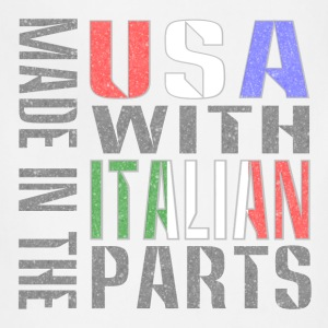 Made in USA Italian Parts Baby & Toddler Shirts - Adjustable Apron