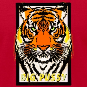 Tiger - Big Pussy (pussycat) Sweatshirts - Men's T-Shirt by American Apparel