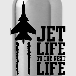 jet life to the next life T-Shirts - Water Bottle
