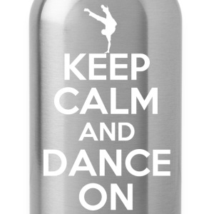 keep calm and dance on - Water Bottle