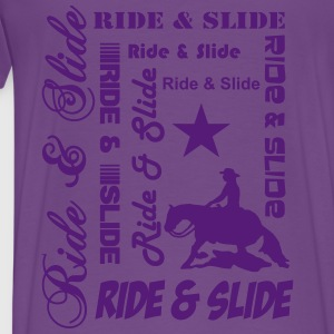 Ride & Slide Hoodies - Men's Premium T-Shirt