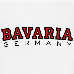 Bavaria Germany Black & Red T-Shirts - Adjustable Apron