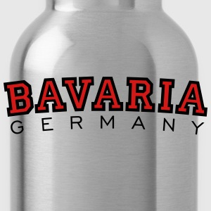 Bavaria Germany Black & Red T-Shirts - Water Bottle