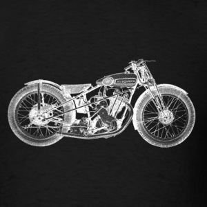 Vintage Motorcycle Shirt - 1931 Husqvarna | - Men's T-Shirt