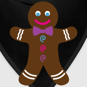Pink Gingerbread Cookie T-Shirt - Bandana