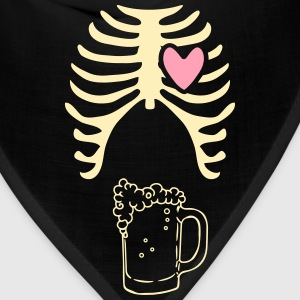 Beer xray Tshirt for dads to be - Bandana