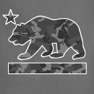California Bear Flag (Urban Camo) - Adjustable Apron