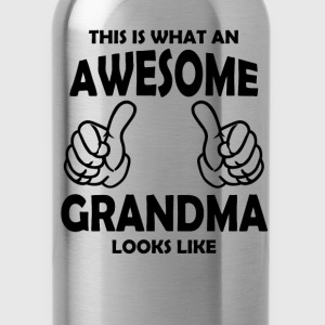 Awesome Grandma Women's T-Shirts - Water Bottle