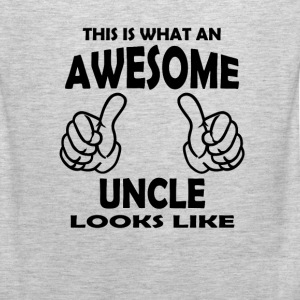 Awesome Uncle Long Sleeve Shirts - Men's Premium Tank