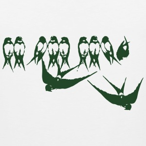 Swallows T-Shirts - Men's Premium Tank