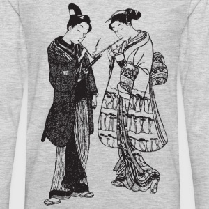 Geisha - Japan - Asian Kids' Shirts - Men's Premium Long Sleeve T-Shirt