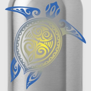Sea Turtle - Tribal Hoodies - Water Bottle