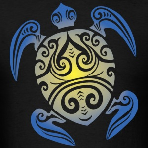 Sea Turtle - Tribal Hoodies - Men's T-Shirt
