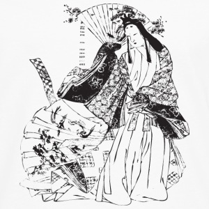 Geisha - Japan - Asian Phone & Tablet Cases - Men's Premium Long Sleeve T-Shirt