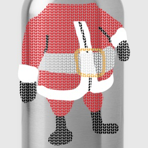 santa Women's T-Shirts - Water Bottle