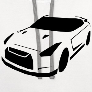 Car T-Shirts - Contrast Hoodie