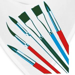Brushes T-Shirts - Bandana