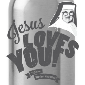 Classic Mother Angelica Dark T-Shirts - Water Bottle
