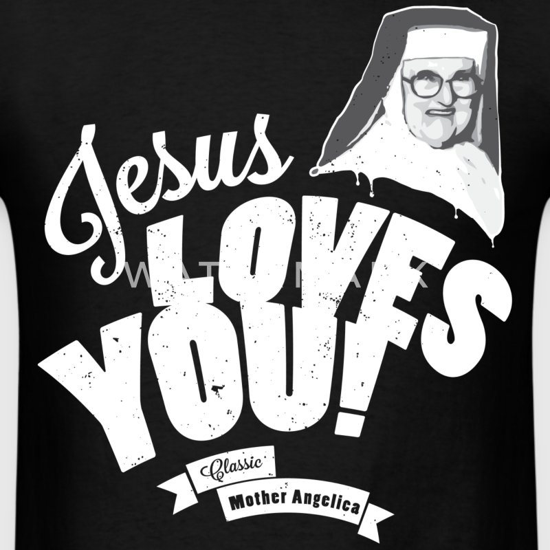 Classic Mother Angelica Light T-Shirts - Men's T-Shirt