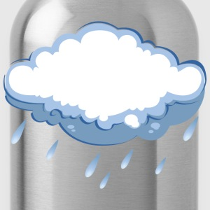 Rain Cloud Women's T-Shirts - Water Bottle