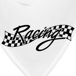Racing - Racer - Checkered Flag Kids' Shirts - Bandana