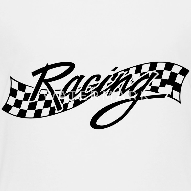 Racing - Racer - Checkered Flag Kids' Shirts - Kids' Premium T-Shirt