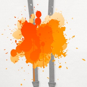 Orange Splatter Phone & Tablet Cases - Contrast Hoodie