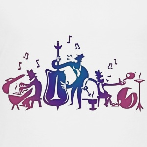 Jazz Musicians Kids' Shirts - Toddler Premium T-Shirt