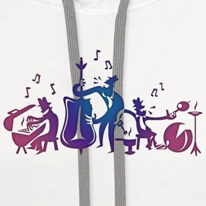 Jazz Musicians T-Shirts - Contrast Hoodie