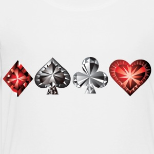Poker - Gambling - Casino Kids' Shirts - Toddler Premium T-Shirt