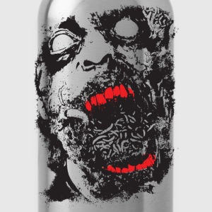 Zombie - Geek - Horror - Scifi T-Shirts - Water Bottle