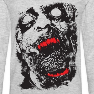 Zombie - Geek - Horror - Scifi Kids' Shirts - Men's Premium Long Sleeve T-Shirt