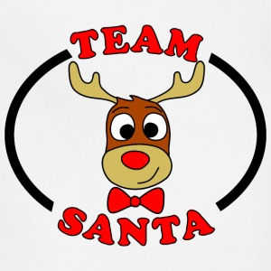 team santa reindeer male Kids' Shirts - Adjustable Apron